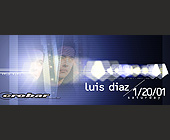 Luis Diaz at Crobar - Nightclub