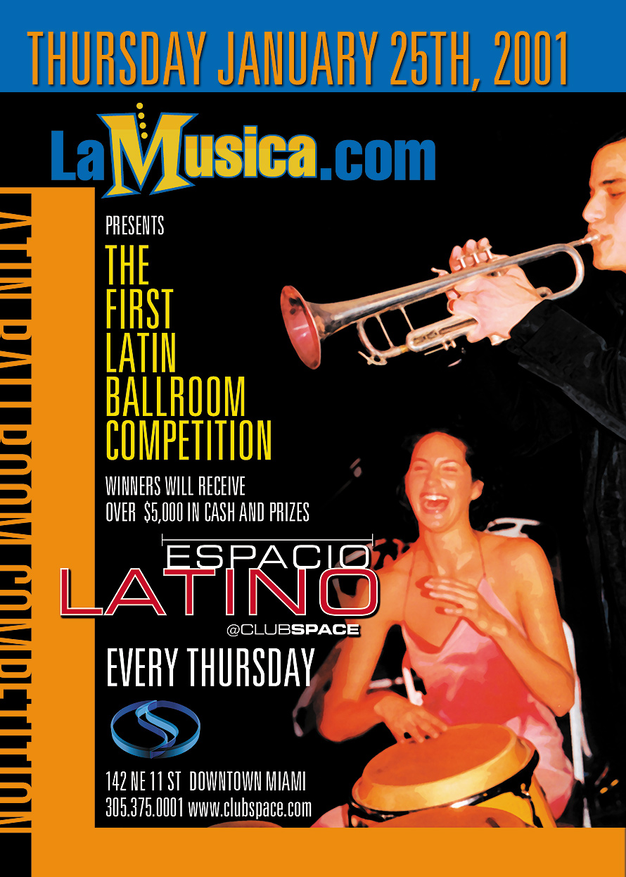 The First Latin Ballroom Competition at Club Space
