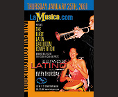 The First Latin Ballroom Competition at Club Space - created January 16, 2001