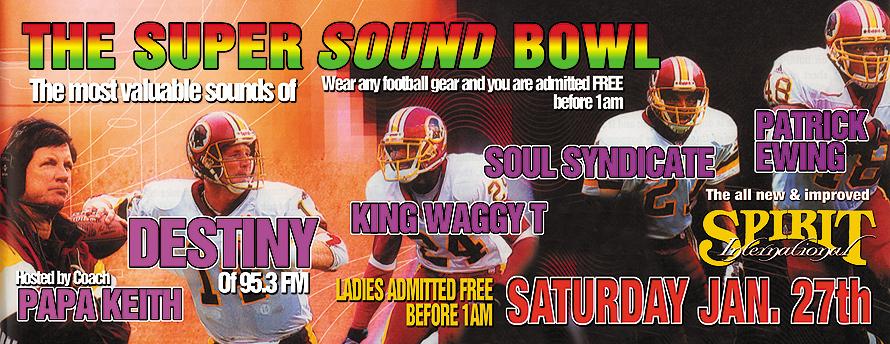 The Super Sound Bowl at Spirit International