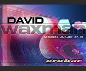 David Waxman at Crobar in Miami Beach - tagged with ultra records