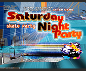 Satuday Night Party at Thunder Wheels - Thunder Wheels Graphic Designs