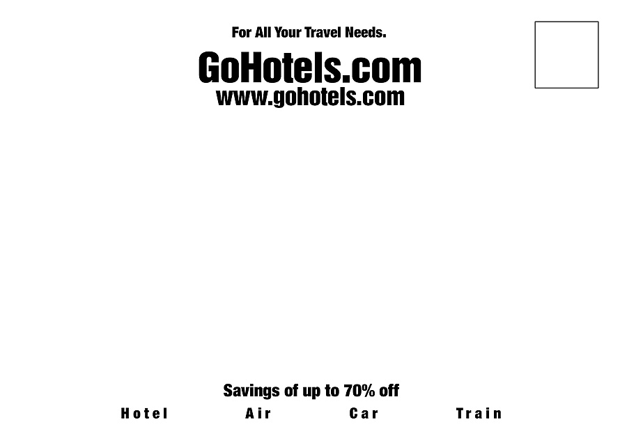 For All Your Travel Needs GoHotels.com
