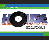House Saturdays at Club Space - tagged with turntable