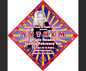 Anthem Triple Header at Crobar - Gay and Lesbian Graphic Designs