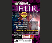 Angler Boats Presents Heir at The Hard Rock Cafe - Rock Graphic Designs