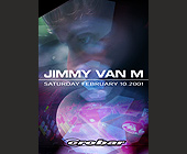 Jimmy Van M at Crobar - 1330x1862 graphic design