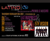 Espacio Latino at Club Space with Latinxpess and 5th Vision - tagged with upcoming events