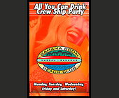 All You Can Drink Crew Ship Party at Bahama Boom Beach Club - Bahamas Graphic Designs