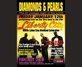 Martin Luther King Celebration at Diamonds and Pearls - tagged with ladies drink free