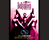 Bellyqueen Dance Orientale at Club Space - Club Space Miami Graphic Designs