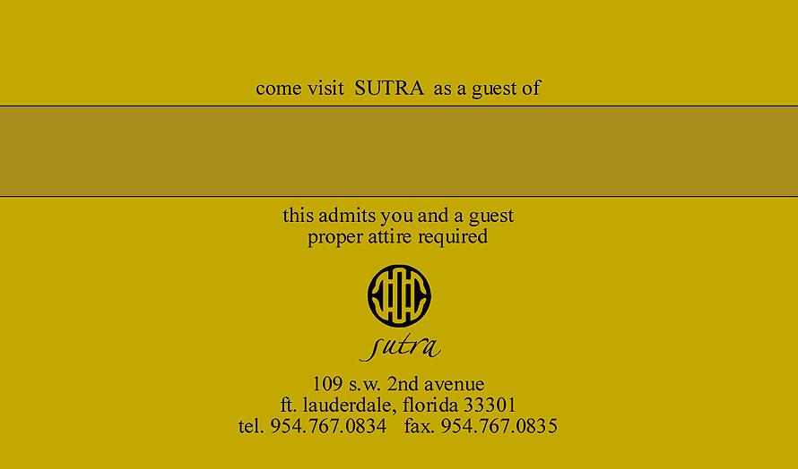 Sutra Guest Pass