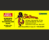 Party Pass for The Chili Pepper in Ft. Lauderdale - tagged with laud