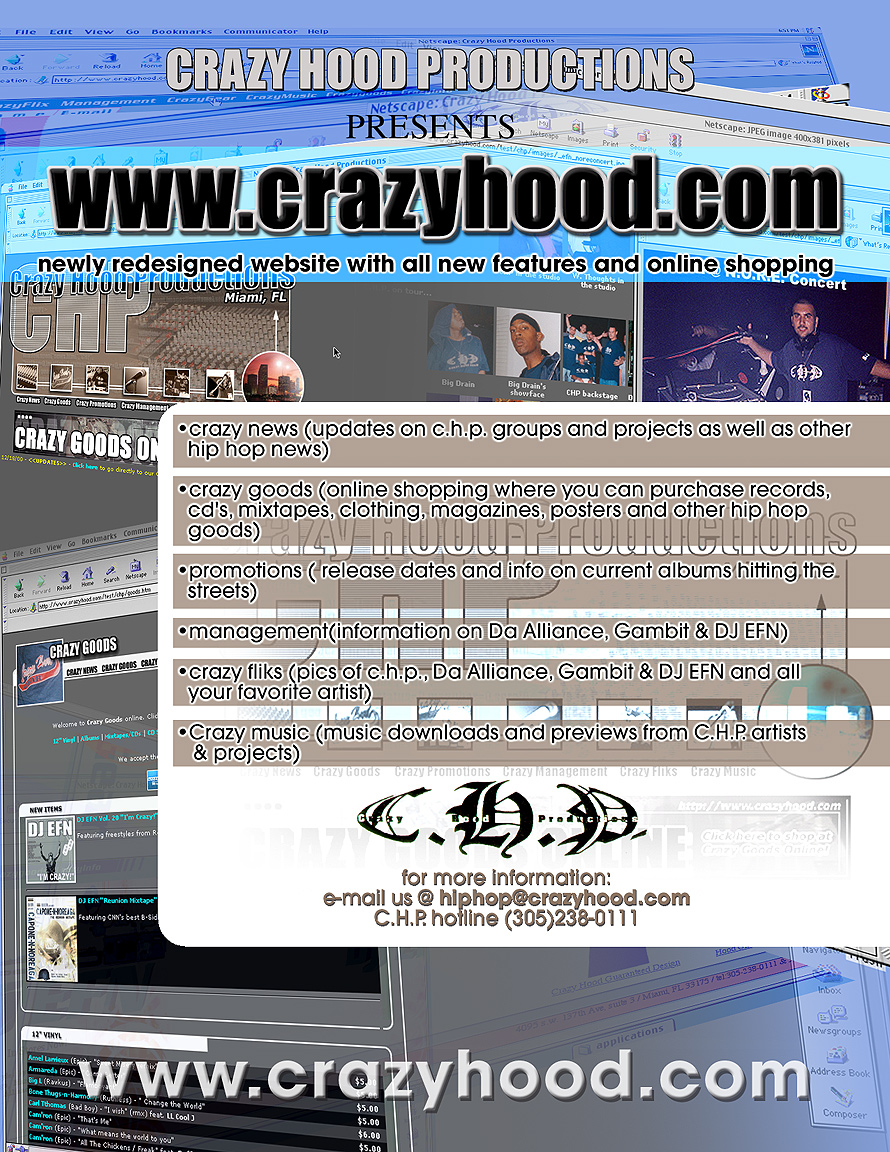 Crazy Hood Productions Presents DJ EFN Volume 20