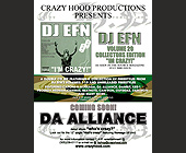 Crazy Hood Productions Presents DJ EFN Volume 20 - tagged with hiphop