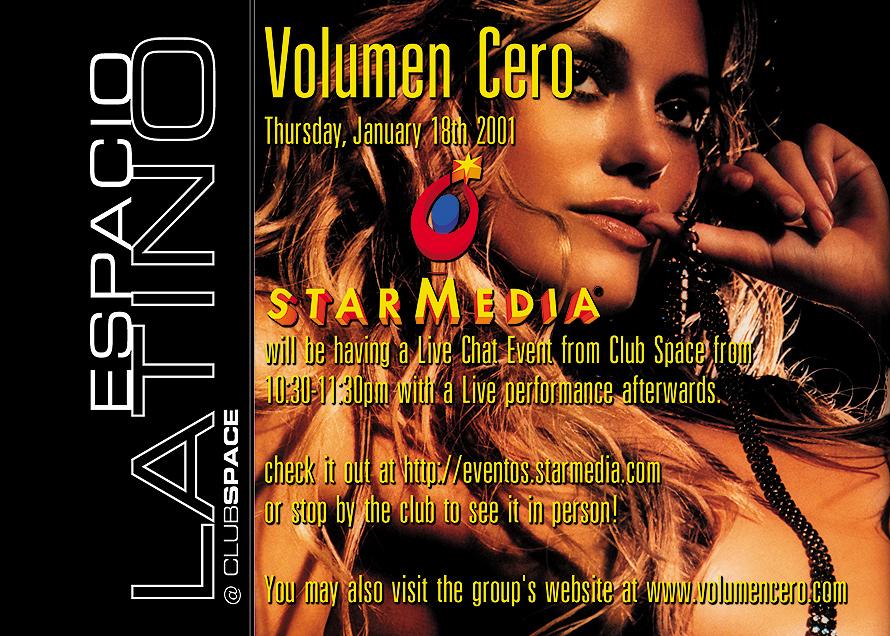 Volumen Cero at Espacio Latino Club Space