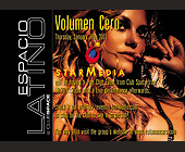 Volumen Cero at Espacio Latino Club Space - created January 09, 2001