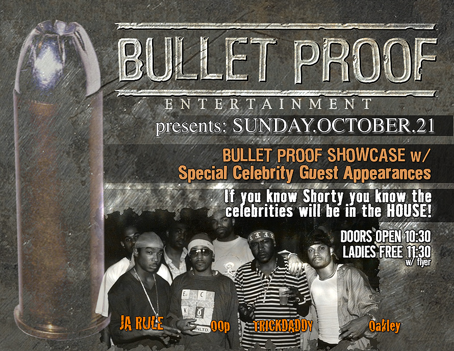 Bulletproof Entertainment Release Party