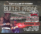 Bulletproof Entertainment Release Party - Party Graphic Designs