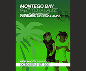 United Way Montego Bay Cruise Party for a Cause - tagged with disco ball