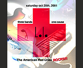 The American Red Cross Rocks - tagged with doors open at 9pm