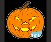Digital Rain with Ocean Drive Magazine Halloween Party - tagged with invite you to celebrate
