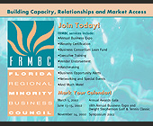 Florida Regional Minority Business Council - tagged with logo