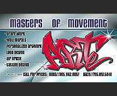 Masters of Movement Business - created October 23, 2001