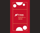 Kiss Cafe in Coconut Grove - Kiss Cafe Graphic Designs