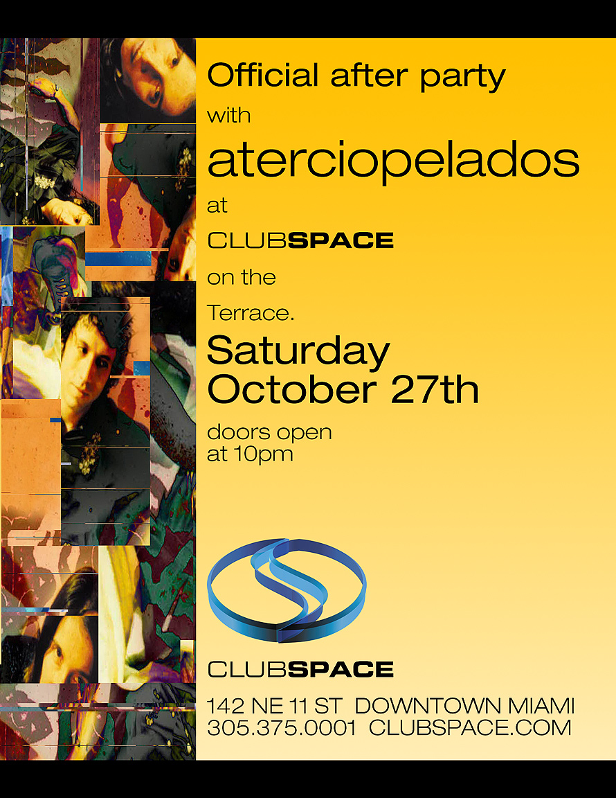 Aterciopelados Event at Club Space