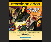 Aterciopelados Event at Club Space - Club Space Graphic Designs