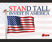 Invest in America Keyes Company Realtor - tagged with american flag