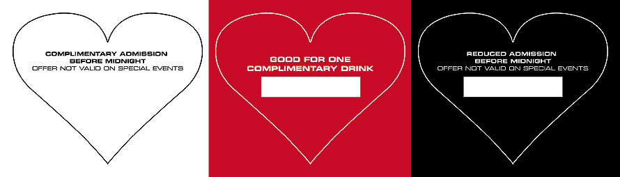 Complimentary Heart Drink Passes