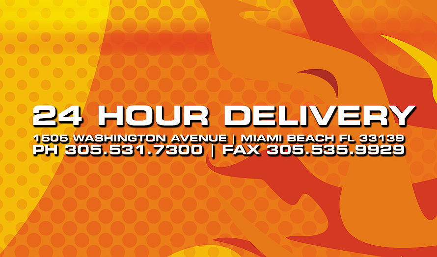 Cheeseburger Baby Offers 24 Hour Delivery in Miami Beach