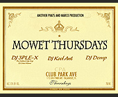 Mowet Thursdays and Suga Daddy Saturdays - Nightclub
