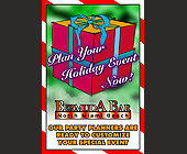 Holiday Events at Bermuda Bar - tagged with ribbon