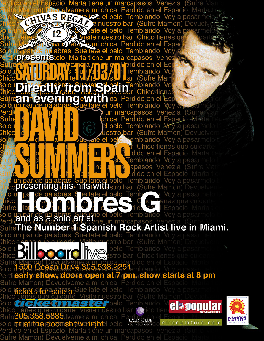 David Summers at Club Space