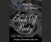 March of Dimes Kick Off Party at Sforza Lounge - Charity and Nonprofit Graphic Designs