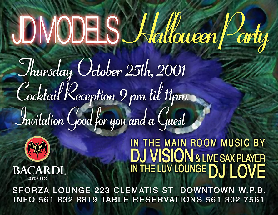 Halloween Party at Sforza Lounge