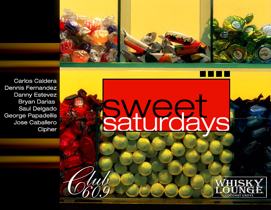 Sweet Saturdays at Whisky Lounge