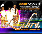 The Libra Birthday Celebration - Birthday Graphic Designs