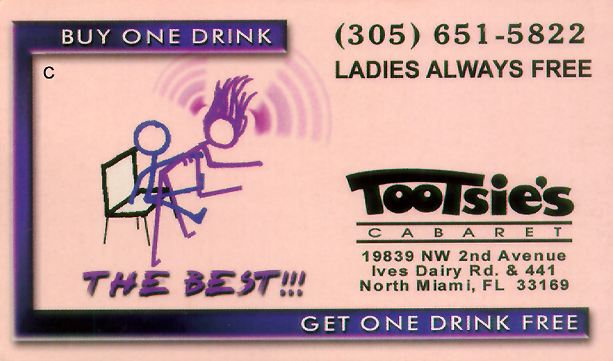 Tootsie's Cabaret Ladies Always Free