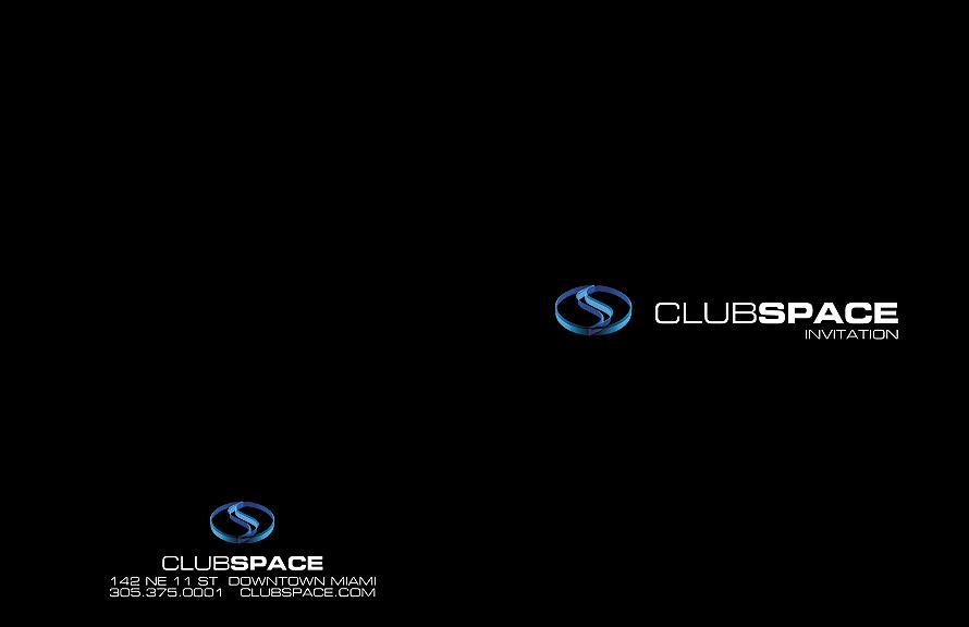 Club Space Invitation