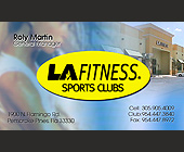 La Fitness Sports Clubs - created 2001