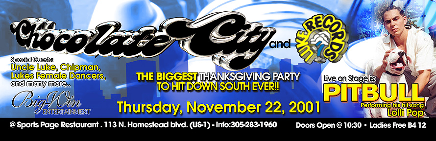 Chocolate City Thanksgiving Party