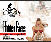 Xplizit Presents Hidden Faces - tagged with disco ball