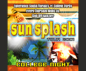 Sun Splash Tour at Club 109 - created November 27, 2001