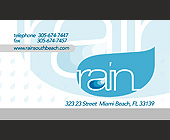 Miami Beach Complimentary Admission at Rain Nightclub - tagged with 21 and over