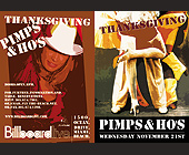 Thanksgiving Pimps and Ho's - tagged with 10 x 7