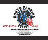 South Florida Boxing Gym - Healthcare Graphic Designs